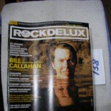 Revistas de música: ANTIGUA REVISTA ROCKDELUX EN BUEN ESTADO - ENVIO INCLUIDO A ESPAÑA. Lote 166656758