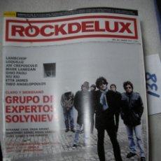 Revistas de música: ANTIGUA REVISTA ROCKDELUX EN BUEN ESTADO - ENVIO INCLUIDO A ESPAÑA. Lote 166656866