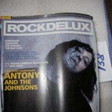 Revistas de música: ANTIGUA REVISTA ROCKDELUX EN BUEN ESTADO - ENVIO INCLUIDO A ESPAÑA. Lote 166657014