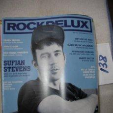 Revistas de música: ANTIGUA REVISTA ROCKDELUX EN BUEN ESTADO - ENVIO INCLUIDO A ESPAÑA. Lote 166657054