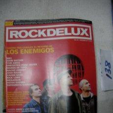 Revistas de música: ANTIGUA REVISTA ROCKDELUX EN BUEN ESTADO - ENVIO INCLUIDO A ESPAÑA. Lote 166657110