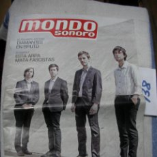 Revistas de música: ANTIGUA REVISTA MONDOSONORO EN BUEN ESTADO - ENVIO INCLUIDO A ESPAÑA. Lote 166657162