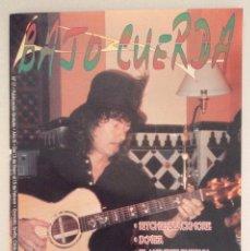 Revistas de música: BAJO CUERDA 17 RICHIE BLACKMORE DOVER EL HOMBRE BURBUJA BADANA MÁRTIRES DEL COMPÁS. Lote 166730918