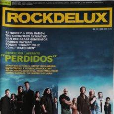 Revistas de música: ROCKDELUX N° 272 (SIN CD) ABRIL DE 2009. Lote 167144400