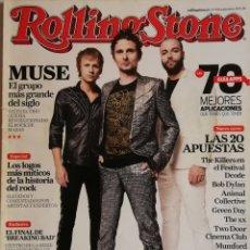 Revistas de música: ROLLING STONE - N°155 - SEPTIEMBRE 2012. Lote 167162352