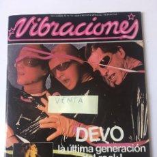 Revistas de música: REVISTA VIBRACIONES N. 50 NOVIEMBRE 1978. Lote 167716582