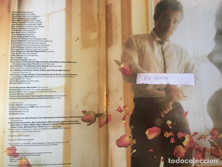 Revistas de música: Revista oficial Tunnel of Love Tour Bruce Springsteen - Foto 2 - 167734742