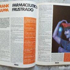 Revistas de música: ROCK ESPEZIAL 38. OCTUBRE 1984. Lote 168375132