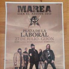 Revistas de música: MAREA KUTXI ROMERO JATAJA LOTE 3 POSTER + SET REPORTAJES DE 1999 A 2010 EXTREMODURO PLATERO Y TU. Lote 197083111