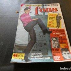 Revistas de música: EN BUEN ESTADO REVISTA FANS NUMERO 6 . Lote 168855668