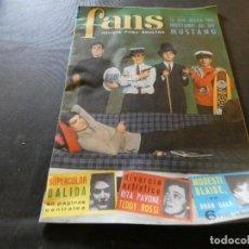 Revistas de música: EN BUEN ESTADO REVISTA FANS NUMERO 30. Lote 168855800