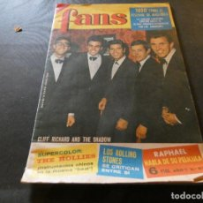 Revistas de música: EN BUEN ESTADO REVISTA FANS NUMERO 57 THE SHADOWS. Lote 168855976