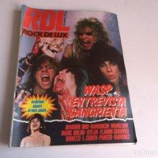 Revistas de música: REVISTA- RDL ROCK DE LUX Nº 6 (ABRIL 1985): LA DE LAS FOTOS VER TODAS MIS REVISTAS DE MUSICA. Lote 169089636