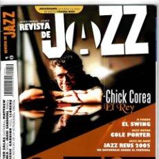 Magazines de musique: REVISTA DE JAZZ Nº 10 - JAZZ REUS 2005 2005. Lote 169392188