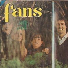 Revistas de música: REVISTA FANS Nº 82 POSTER DONOVAN. Lote 169630752