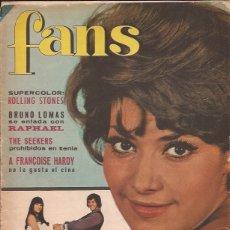 Revistas de música: REVISTA FANS Nº 81 POSTER ROLLING STONES. Lote 169631124