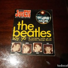 Revistas de música: REVISTA MUNDO JOVEN Nº 53 - THE BEATLES , SOY YO . RELATO DE GEORGE MARTIN - POSTER PERET. Lote 169774692