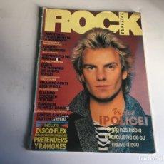 Revistas de música: REVISTA- ROCK ESPEZIAL Nº 1 (SEPTIEMBRE 1981): LA DE LAS FOTOS VER TODAS MIS REVISTAS. Lote 169963588