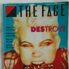 Revistas de música: REVISTA MAGAZINE THE FACE N° 70 1986 PET SHOP BOYS THE WATERBOYS. Lote 170225153