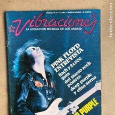 Revistas de música: VIBRACIONES N° 17 (1976). FALTAN VIBS Y POSTERS. ENTREVISTA PINK FLOYD, LOU REED, LLUÍS LLACH. Lote 170226773