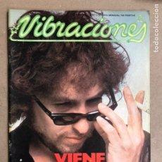 Revistas de música: VIBRACIONES N° 44 (1978). FALTAN VIBS Y POSTERS.BOB DYLAN, THE CLASH, TETE MONTOLIU, VENENO. Lote 170229836