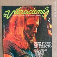 Revistas de música: VIBRACIONES N° 30 (1977). FALTAN VIBS Y POSTERS. PINK FLOYD, BOB MARLEY, FLEETWOOD MAC. Lote 170230292