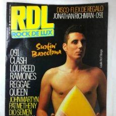 Revistas de música: REVISTA RDL ROCK DE LUX Nº 20 - 1986 LOQUILLO, QUEEN, RAMONES, Y OTROS. Lote 194768981