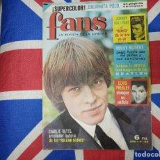 Revistas de música: ROLLING STONES BEATLES REVISTA FANS NUEVA. Lote 170559816
