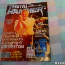 Revistas de música: REVISTA METAL HAMMER N,38 DE 1991. Lote 170883920