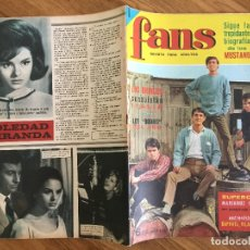Revistas de música: REVISTA FANS - AÑO I, Nº 31 - CONTRAPORTADA SOLEDAD MIRANDA - GCH. Lote 171034732