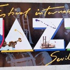 Revistas de música: LIBRILLO PROGRAMA DEL FESTIVAL INTERNACIONAL DE JAZZ DE SEVILLA 1986. Lote 171440380