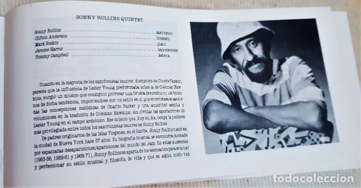 Revistas de música: Librillo programa del festival internacional de Jazz de Sevilla 1986 - Foto 3 - 171440380