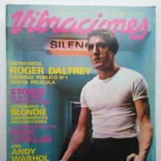 Revistas de música: VIBRACIONES REVISTA N° 71 STONES ANDY WARHOL MICHAEL JACKSON EL HORTELANO 1980. Lote 171541443
