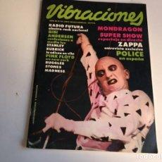 Revistas de música: REVISTA- VIBRACIONES Nº 67 AÑO 1980 LA DE LAS FOTOS VER TODAS MIS REVISTAS . Lote 171669863