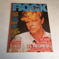 Revistas de música: REVISTA- ROCK ESPEZIAL Nº 20 (ABRIL 1983): LA DE LAS FOTOS VER TODAS MIS REVISTASDE MUSICA. Lote 171728815