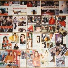 Revistas de música: MICHAEL JACKSON COLECCIÓN PRENSA SPAIN CLIPPINGS 1990S RARE PHOTOS MAGAZINE ARTICLES LOT. Lote 118262163