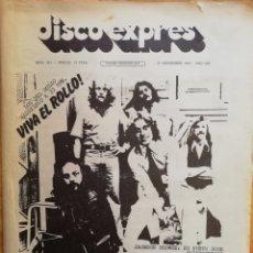 Revistas de música: DISCO-EXPRES, N°351 1975. Lote 172398003