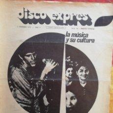 Revistas de música: DISCO-EXPRES, N°159 (1972). Lote 172398448