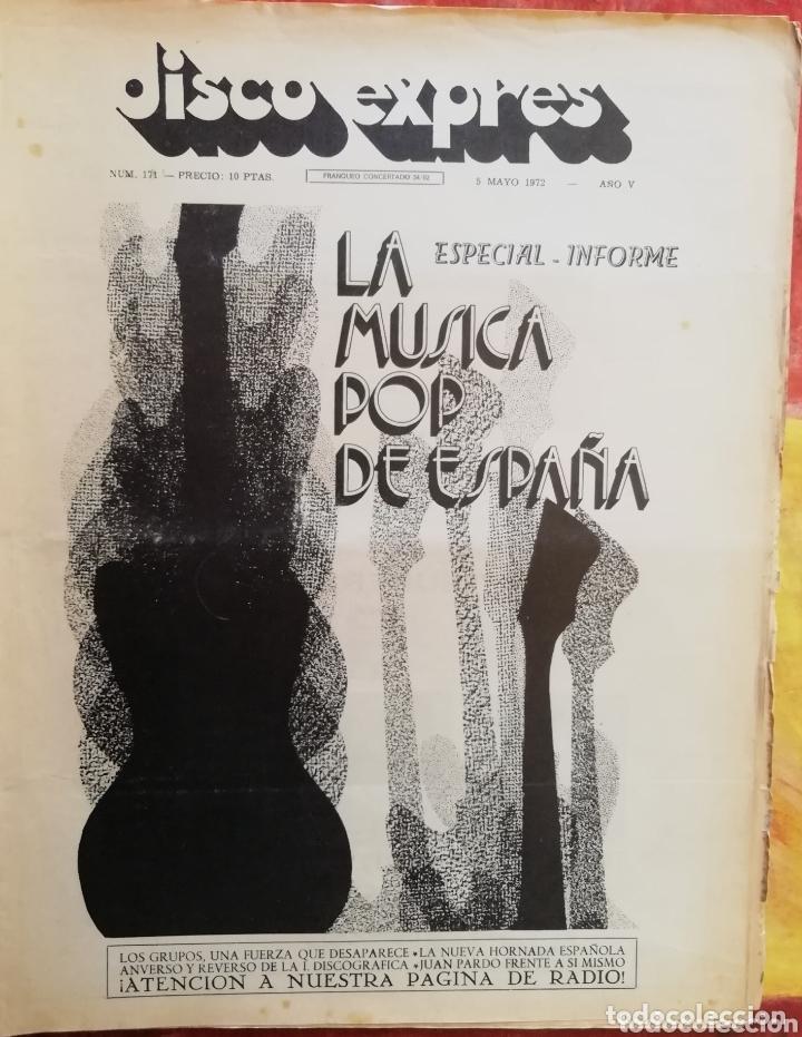 DISCO-EXPRES, N°171 (1972) (Música - Revistas, Manuales y Cursos)