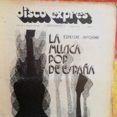 Revistas de música: DISCO-EXPRES, N°171 (1972). Lote 172398688