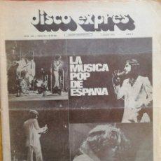 Revistas de música: DISCO-EXPRES, N° 180 (1972). Lote 172398797