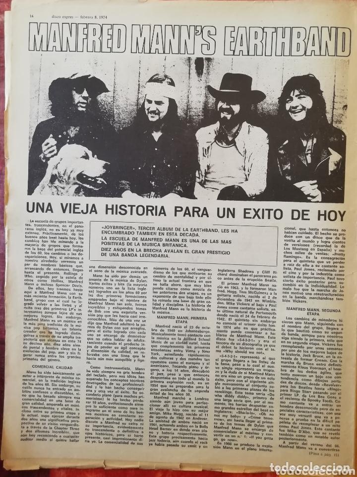 Revistas de música: DISCO-EXPRES, N° 261 (1974) - Foto 3 - 172399050