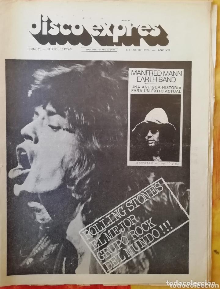 DISCO-EXPRES, N° 261 (1974) (Música - Revistas, Manuales y Cursos)