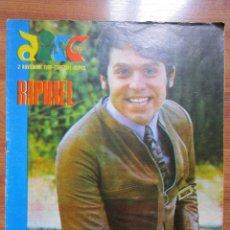 Revistas de música: REVISTA DISCOBOLO 2 DE NOVIEMBRE 1968 RAPHAEL YO SOY ASI // SERRAT// ( VER FOTO UNA HOJA MAL ). Lote 172669417