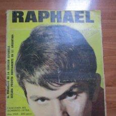 Revistas de música: REVISTA DE IMPORTACION RAPHAEL // PALITO OTERGA ( NO TIENE EL POSTER CENTRAL ) VER FOTOS. Lote 172738890