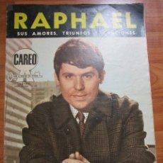 Revistas de música: REVISTA DE IMPORTACION DE RAPHAEL ( CONTIENE EL POSTER CENTRAL ) VER FOTOS. Lote 172739069