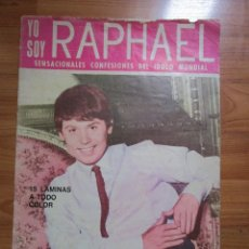 Revistas de música: REVISTA DE IMPORTACION RAPHAEL ( TIENE EL POSTER CENTRAL ) VER FOTOS. Lote 172739153