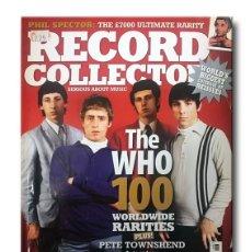 Revistas de música: RECORD COLLECTOR - Nº337 - JUNE 2007 - THE WHO . Lote 172748457