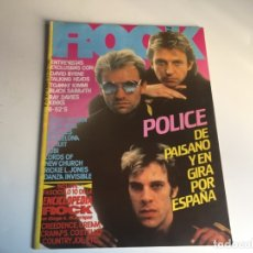 Revistas de música: REVISTA- ROCK ESPEZIAL Nº 25 (SEPTIEMBRE 1983): LA DE LAS FOTOS VER TODAS MIS REVISTASDE MUSICA. Lote 172987057