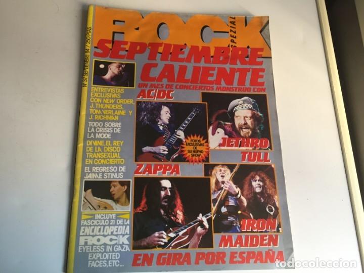 REVISTA- ROCK ESPEZIAL Nº 37 (SEPTIEMBRE 1984): LA DE LAS FOTOS VER TODAS MIS REVISTASDE MUSICA (Música - Revistas, Manuales y Cursos)